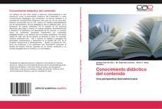 Conocimiento didáctico del contenido kitap kapağı