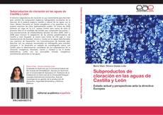 Обложка Subproductos de cloración en las aguas de Castilla y León