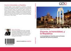 Portada del libro de Cicerón, la honestidad, y la República