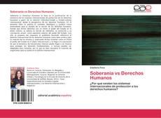 Buchcover von Soberanía vs Derechos Humanos