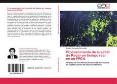 Buchcover von Procesamiento de la señal de Radar en tiempo real en un FPGA