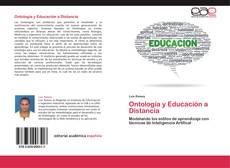 Capa do livro de Ontología y Educación a Distancia