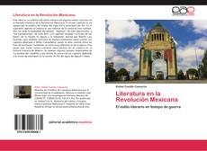 Capa do livro de Literatura en la Revolución Mexicana