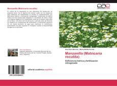 Portada del libro de Manzanilla (Matricaria recutita)