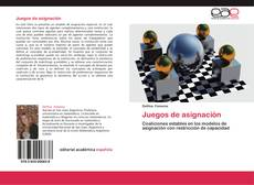 Buchcover von Juegos de asignación