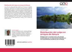 Copertina di Distribución del coipo en arroyos de llanura