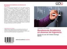 Capa do livro de Rendimiento Académico en alumnos de Ingeniería