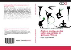 Bookcover of Análisis cinético de los saltos específicos en gimnasia rítmica