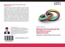 Buchcover von Método del Gradiente No Euclidiano para Optimización