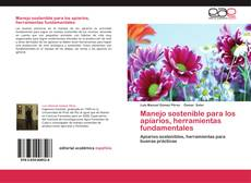 Buchcover von Manejo sostenible para los apíarios, herramientas fundamentales