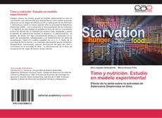 Bookcover of Timo y nutrición. Estudio en modelo experimental