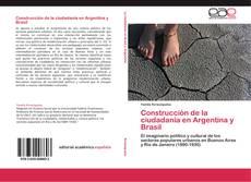 Copertina di Construcción de la ciudadanía en Argentina y Brasil