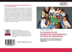 Buchcover von La resolución de problemas matemáticos y el oficio de albañilería