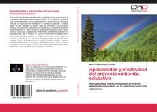 Portada del libro de Aplicabilidad y efectividad del proyecto ambiental educativo