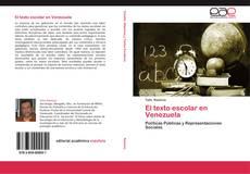 Capa do livro de El texto escolar en Venezuela