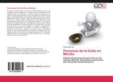 Portada del libro de Personas de la Calle en Mérida