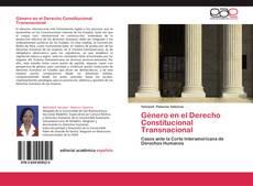 Buchcover von Género en el Derecho Constitucional Transnacional