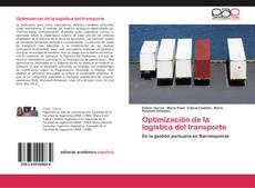 Bookcover of Optimización de la logística del transporte