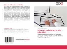 Bookcover of Internet y el derecho a la intimidad