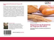 Portada del libro de Separación de Prolaminas de Trigo por RP HPLC