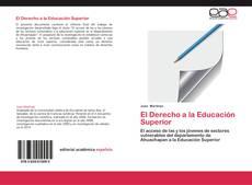 Portada del libro de El Derecho a la Educación Superior