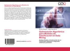 Portada del libro de Optimización Algorítmica para Modelos de Clasificación en Data Mining