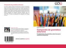 Capa do livro de Compendio de gramática asturiana