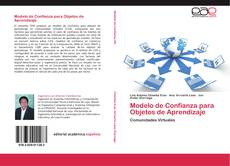 Buchcover von Modelo de Confianza para Objetos de Aprendizaje