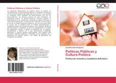 Políticas Públicas y Cultura Política kitap kapağı