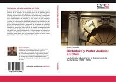 Buchcover von Dictadura y Poder Judicial en Chile