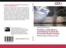 Buchcover von Hombre, naturaleza y sociedad en la obra de Fernando Boytel Jambú