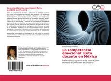 Обложка La competencia emocional: Reto docente en México