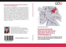 Couverture de Funcionamiento diferencial del ítem: Apuntes teóricos y metodológicos