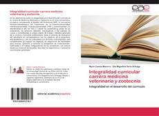 Buchcover von Integralidad curricular carrera medicina veterinaria y zootecnia