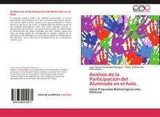 Bookcover of Análisis de la Participación del Alumnado en el Aula.