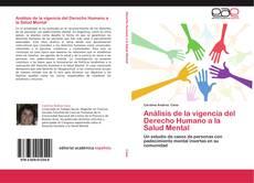 Bookcover of Análisis de la vigencia del Derecho Humano a la Salud Mental