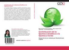 Capa do livro de Contribución de la Química Analítica a la Química Verde