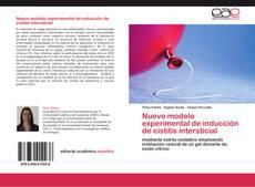 Обложка Nuevo modelo experimental de inducción de cistitis intersticial