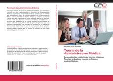 Bookcover of Teoría de la Administración Pública