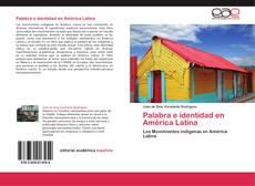 Buchcover von Palabra e identidad en América Latina