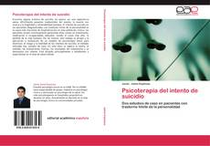 Psicoterapia del intento de suicidio的封面
