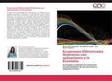 Copertina di Ecuaciones Diferenciales Ordinarias con aplicaciones a la Economía