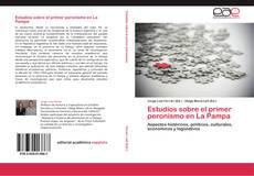 Capa do livro de Estudios sobre el primer peronismo en La Pampa