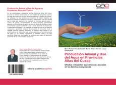 Portada del libro de Producción Animal y Uso  del Agua en Provincias Altas del Cusco