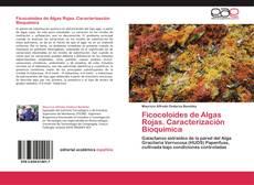 Capa do livro de Ficocoloides de Algas Rojas. Caracterización Bioquímica