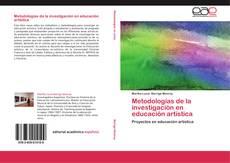 Bookcover of Metodologías de la investigación en educación artística