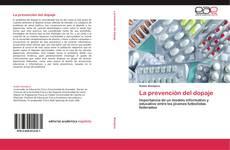 Couverture de La prevención del dopaje