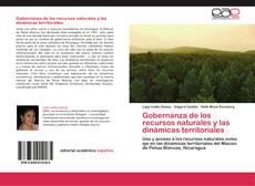 Capa do livro de Gobernanza de los recursos naturales y las dinámicas territoriales