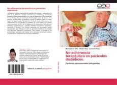 Portada del libro de No adherencia terapéutica en pacientes diabéticos.