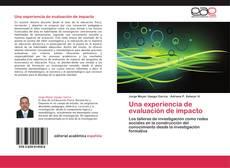 Portada del libro de Una experiencia de evaluación de impacto